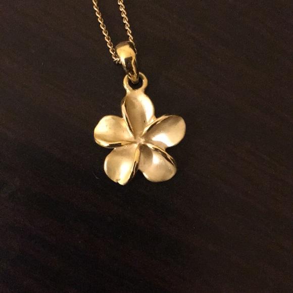 Jewelry Plumeria Flower Necklace Poshmark